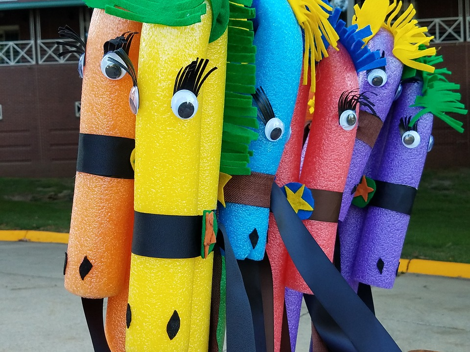 6 Fun Pool Noodle Crafts