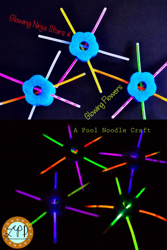 pool noodle ninja stars