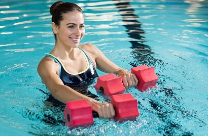 Swimming Pool Workouts for Weight Loss