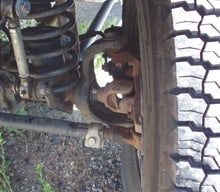 4WD Front Axle