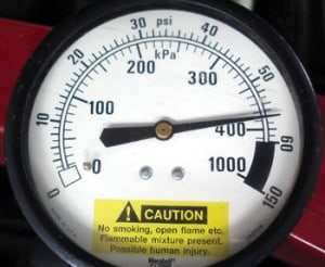 Mechanical Pressure Guage