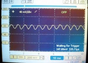 Oscilloscope Reading