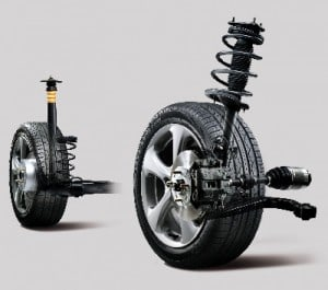 Strut and Suspension Assembly