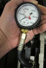 Load Cells Attached To Dial Guage