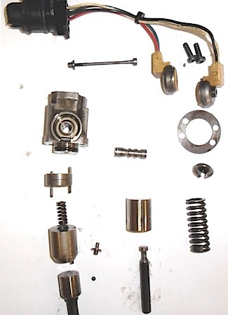 Disassembled Fuel Injector