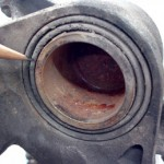 Defective Brake Caliper