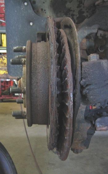 split vented rotor