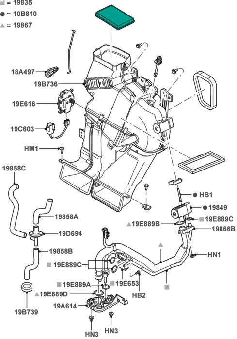 1164913 Sad Newbie Question Regarding My Spare Tire Mount also 2qh5z 2002 Ford Expedition Eb Rear Air Suspension Stopped Working besides Starter Location 2007 Ford Escape likewise 2004 Mitsubishi Lancer Ralliart Parts moreover 2004 Toyota Sienna Stereo Wiring Diagram. on escape hybrid starter location
