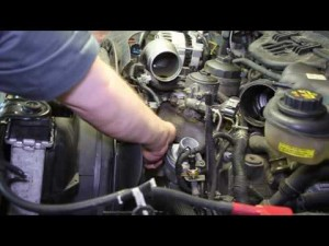 6.0L Powerstroke Coolant Temperature Sensor Replacement