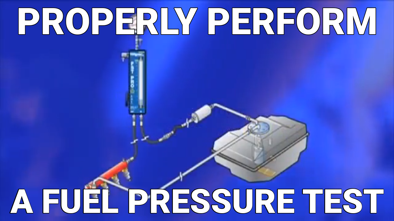 Properly Perform a Fuel Pressure Test - Part 1 | Know Your Parts