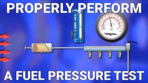 Fuel Pressure Test2