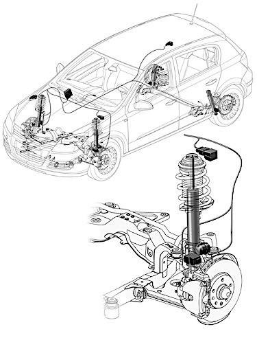 Electronic Adjustable Shocks And Struts