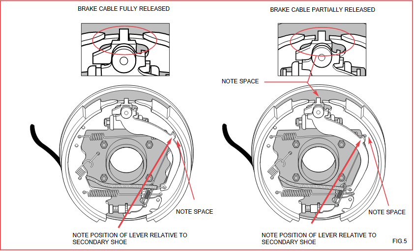 Drum Brake Cut Away on Ford Ranger Rear Brake Diagram