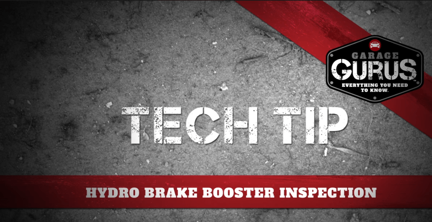 How To Inspect a Hydro Brake Booster | Know Your Parts