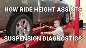 ride height assists suspension diagnostics
