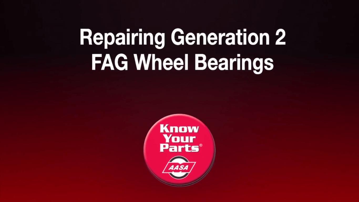 Repairing Generation 2 Wheel Bearings | Know Your Parts