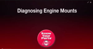 Diagnosing Engine Mounts