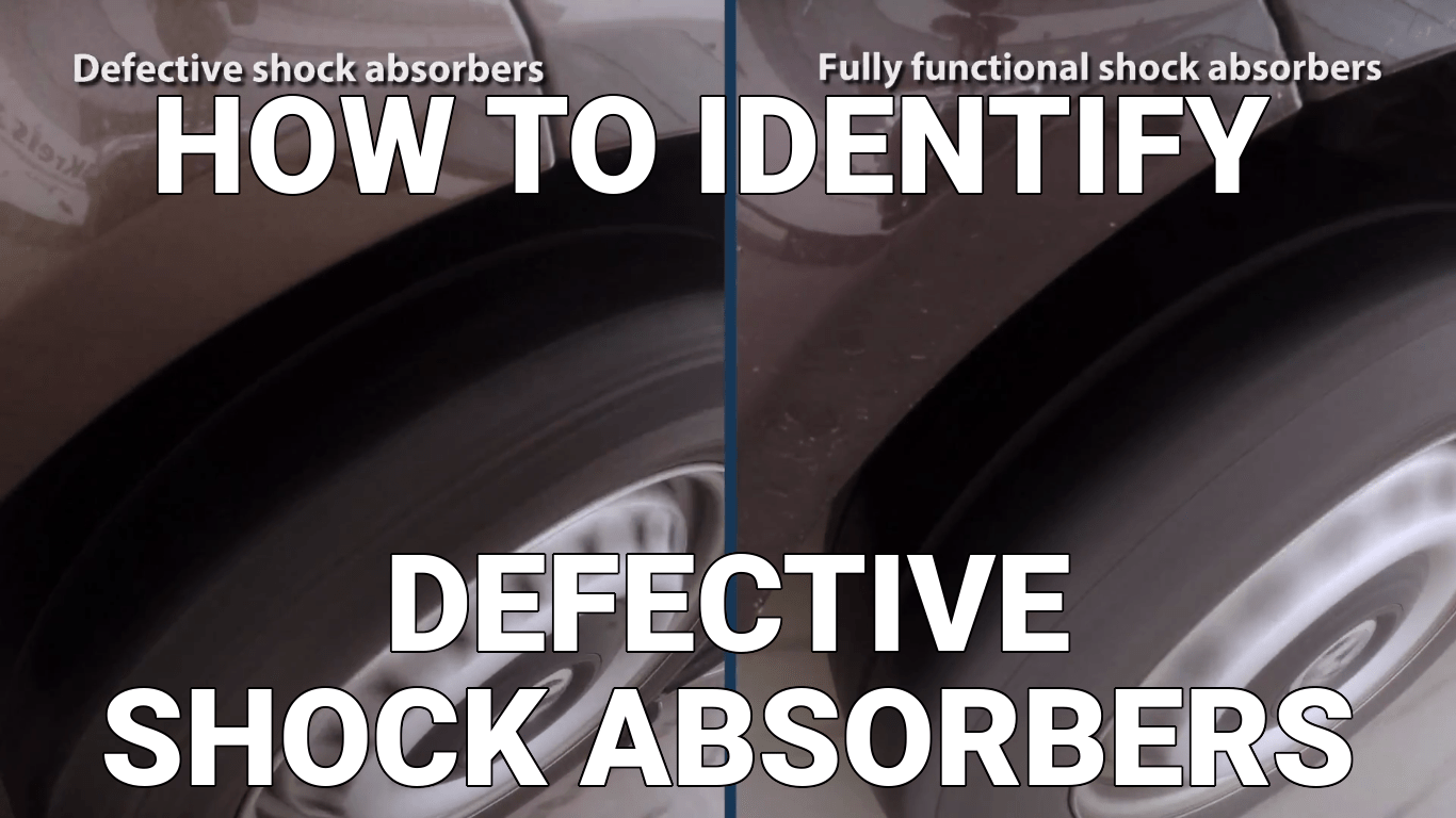 How to Identify Defective Shock Absorbers - Know Your Parts