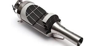 Diesel Particulate Filter Cutaway