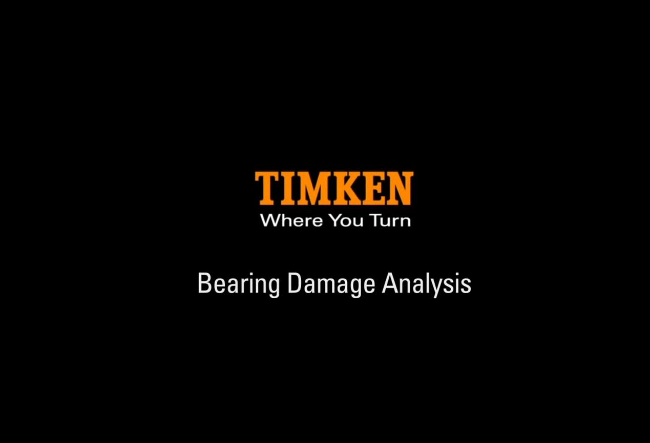 Bearing Damage Analysis for Tapered Roller Bearings - Know