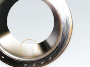 Bearing cone (inner race) bore polishing