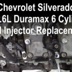 2006 Chevrolet Silverado 2500 HD 6.6L Duramax 6 Cylinder Fuel Injector Replacement