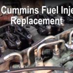 6.7L Cummins Fuel Injector Replacement