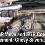 EGR阀和EGR冷却器更换:雪佛兰Silverado 2500