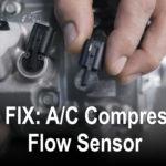 空调压缩机流量传感器