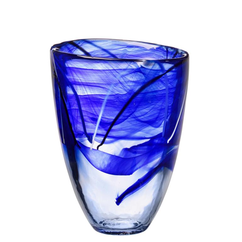 vase blue kosta boda us. Black Bedroom Furniture Sets. Home Design Ideas