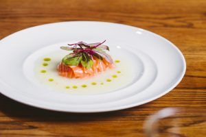 Salmon Tiradito