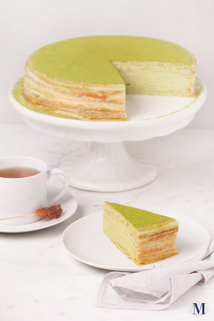 Green Tea Mille Crêpes - 9 inches · Lady M