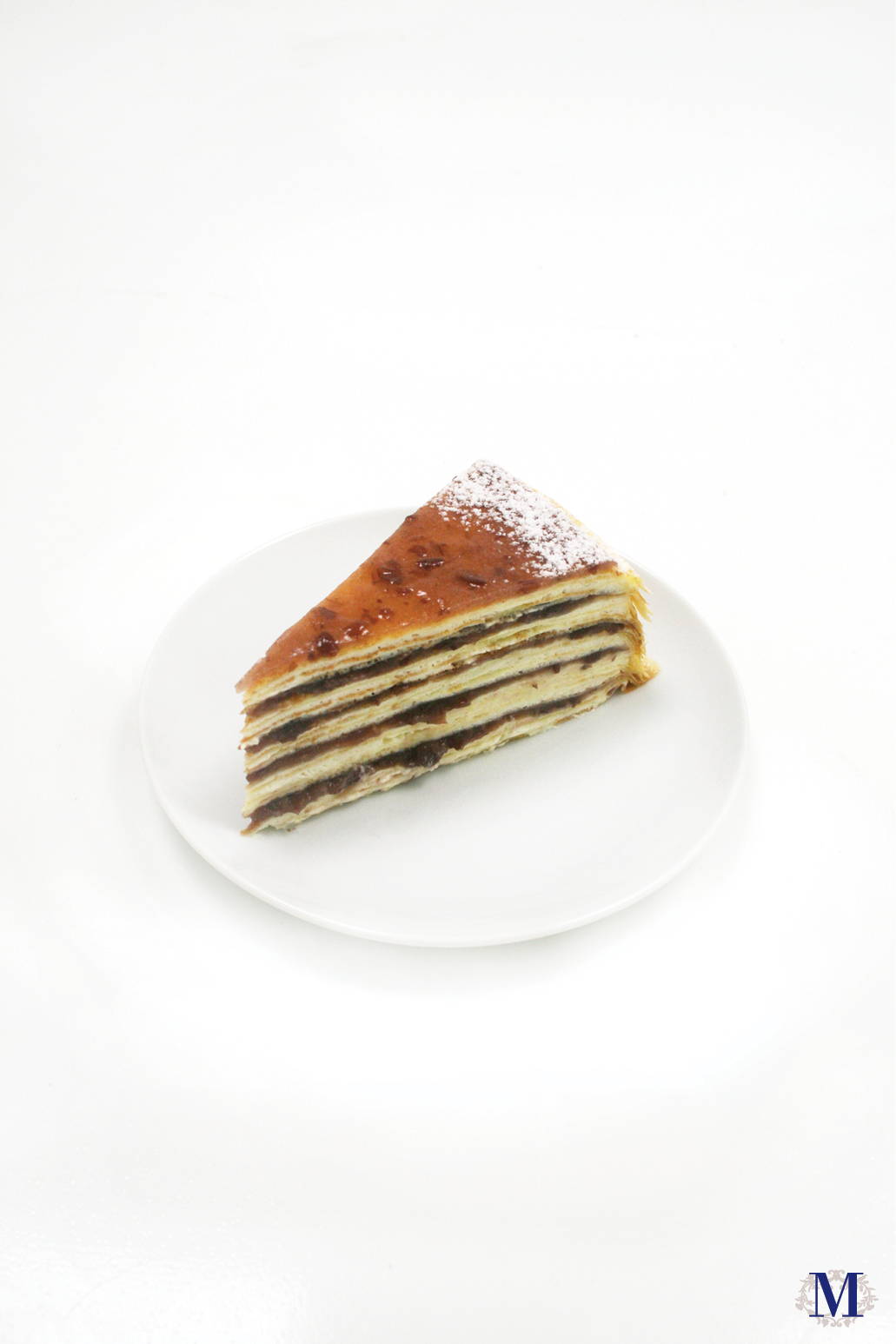 Red Bean Mille Crêpes - 6 inches - Boston Boutique Only · Lady M