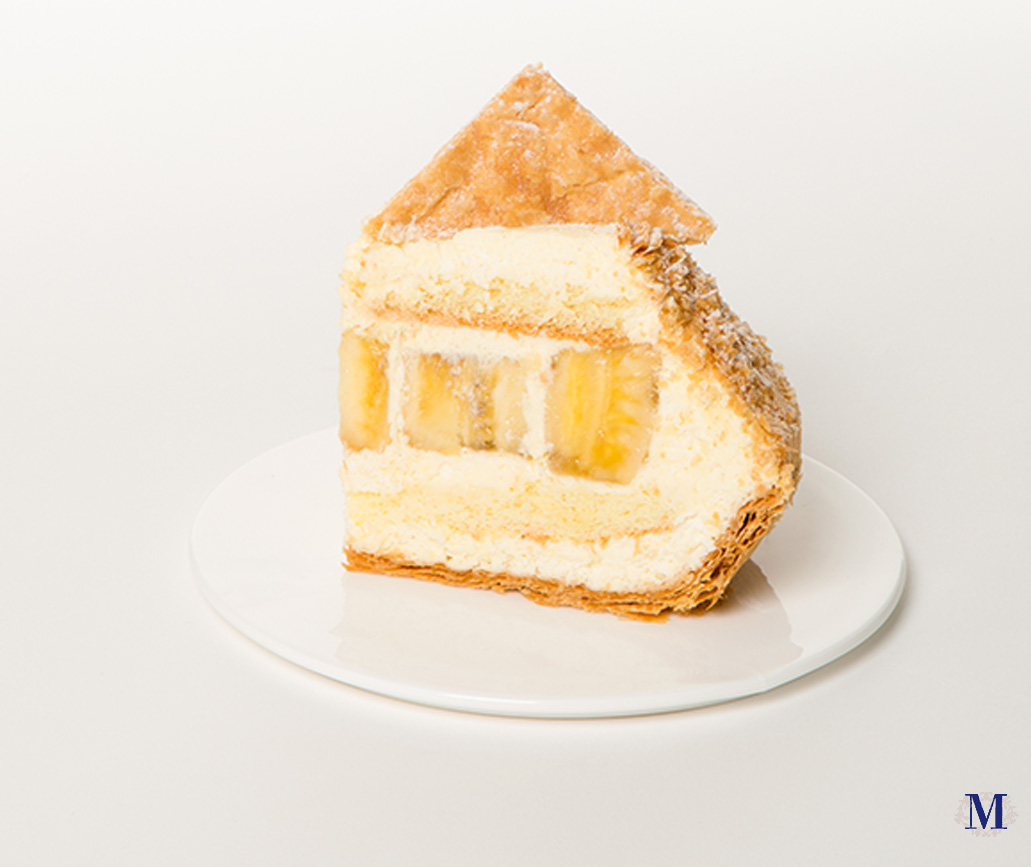 Banana Mille Feuilles - 9 inches · Lady M
