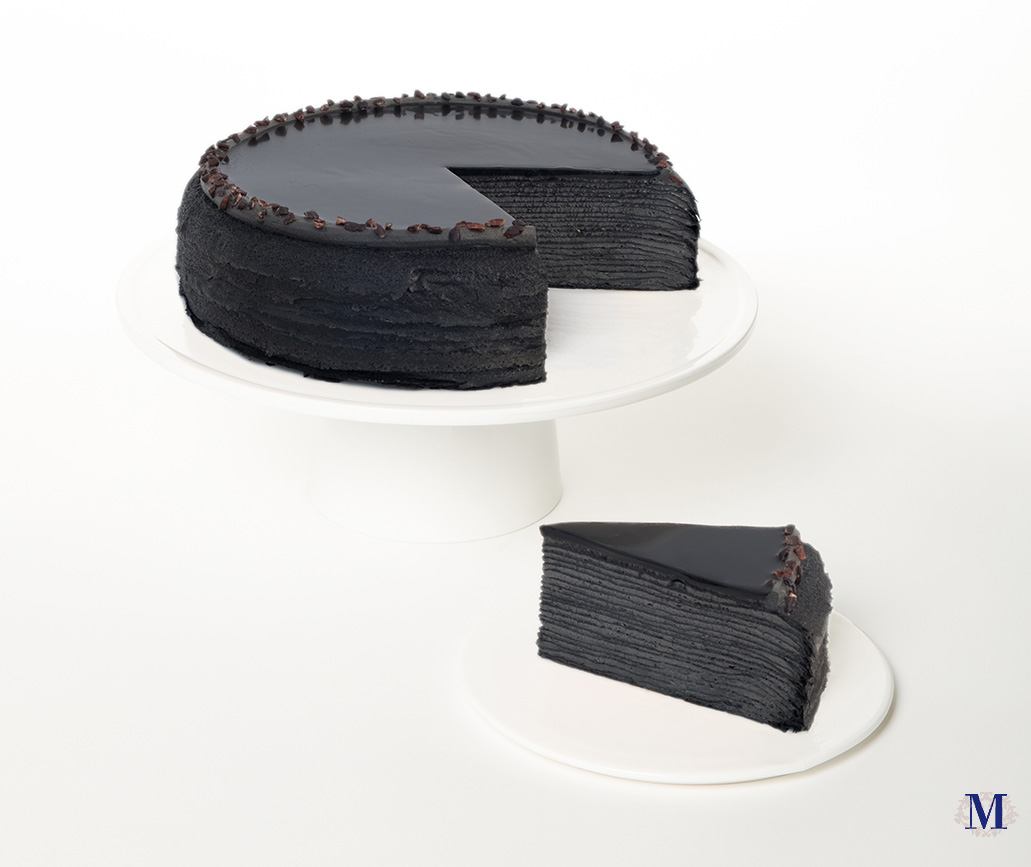 Charcoal Mille Crepes