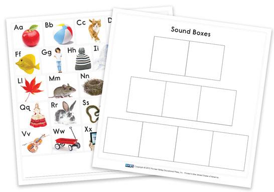 ABC Chart/Sound Box Cards
