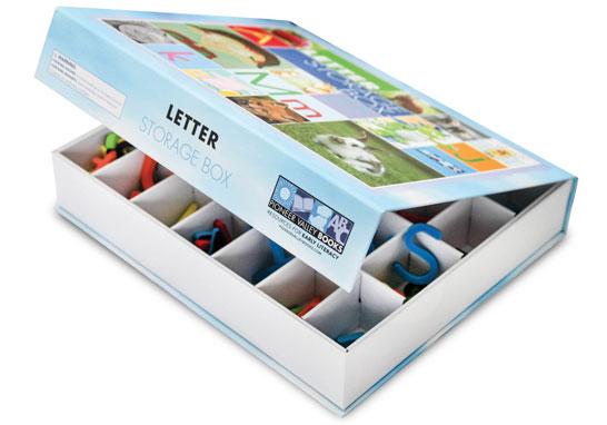 Magnetic Letter Storage Box