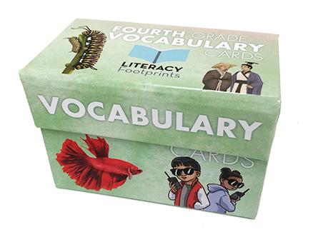 Vocabulary Box Set Fourth Grade