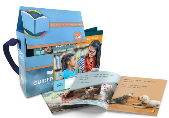 Literacy Footprints Guided Reading Assessment Kit, Levels A–N