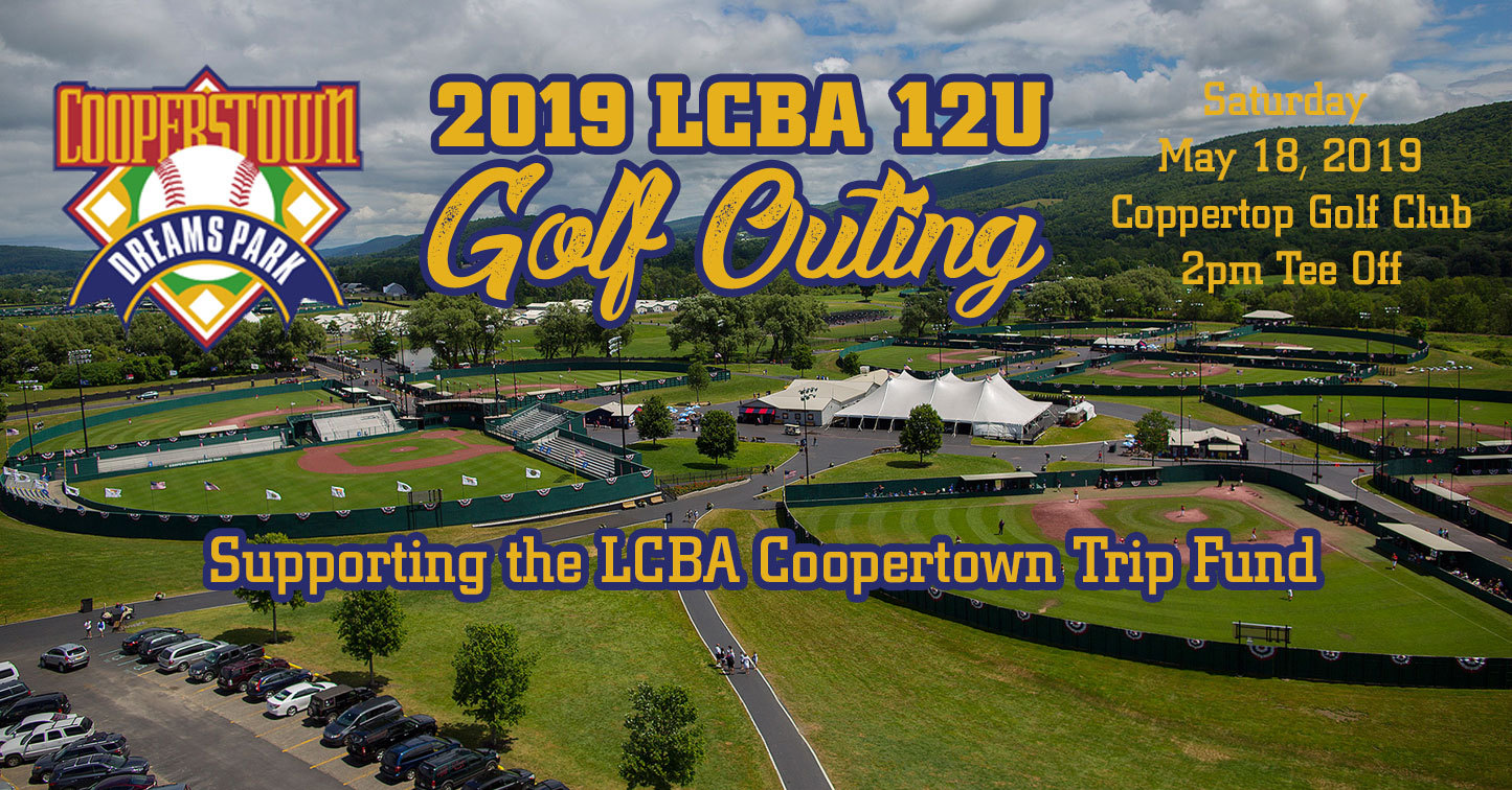 LCBA 12U Cooperstown Golf Outing