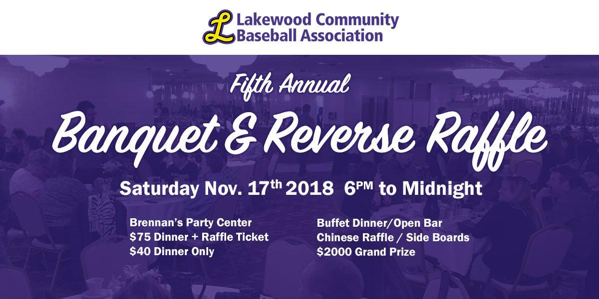 5th Annual LCBA Banquet & Reverse Raffle