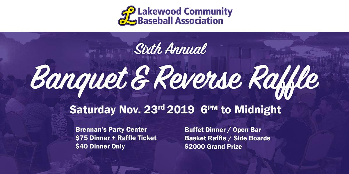 6th Annual LCBA Banquet & Reverse Raffle