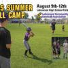Lakewood Rangers Summer Baseball Camp 2021