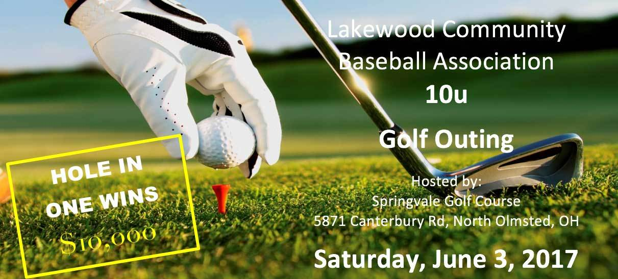 LCBA 10U Golf Outing