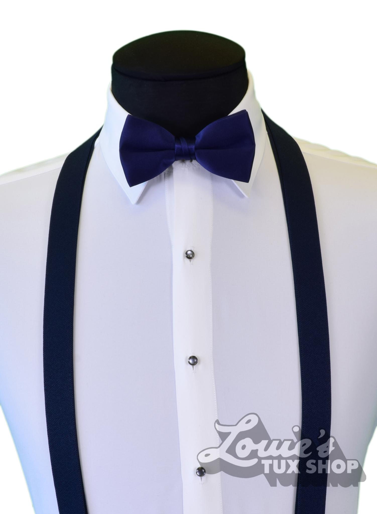 c319c33800ff Louie's Tux Shop   Navy Suspenders