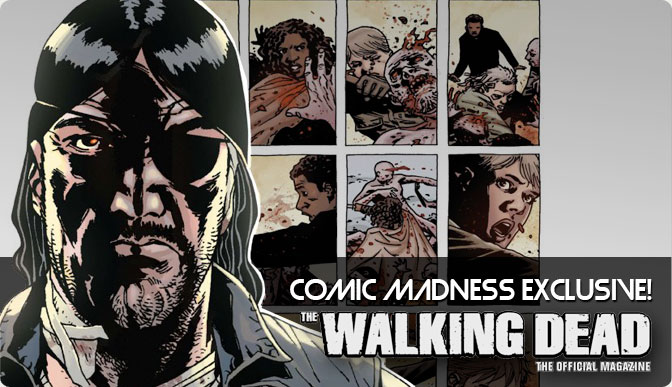 The Walking Dead Official Magazine #1 Wade's Comic Madness Store Exclusive Variant