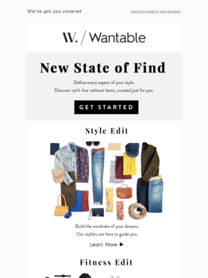 Wantable - hello@wantable.co