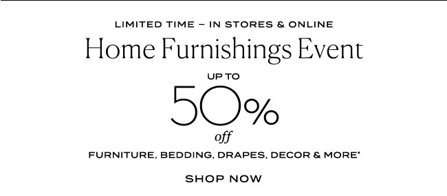 Home Furnishings Event