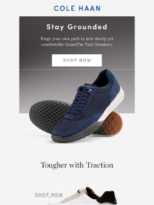 New GrandPrø Trail Sneakers: Forge New Paths