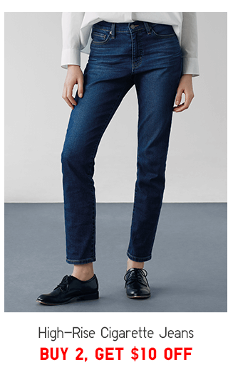 HIGH-RISE CIGARETTE JEANS BUY 2, GET $10 OFF - SHOP MEN